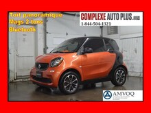 2016 smart fortwo passion *Toit panoramique, Mags 2 tons, Bluetooth À hayon