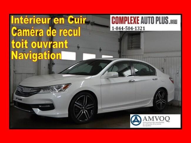 2016 Honda Accord Sedan Touring *Navi/GPS, Cuir, Toit ouvrant Sedan