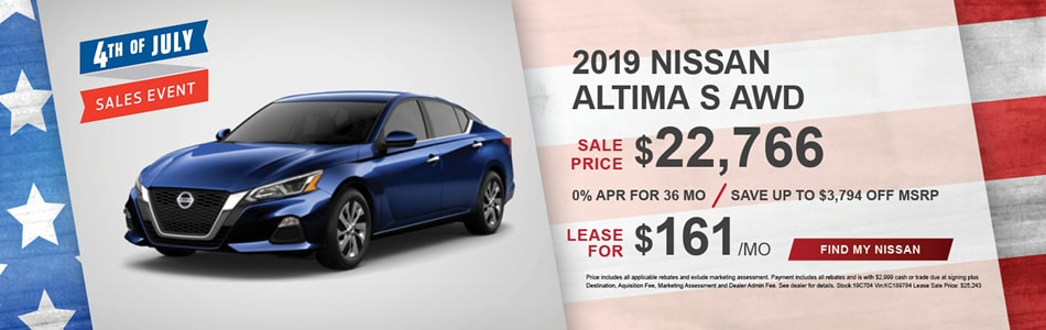 Nissan Lease Deals >> Concord Nissan Specials And Lease Deals Serving Manchester Nh