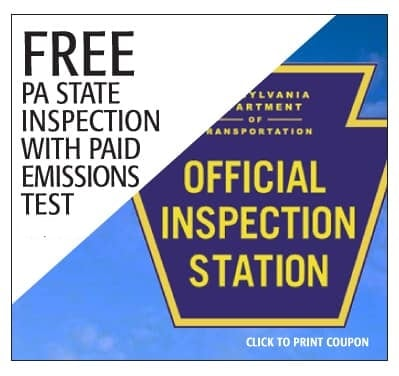 State Inspection Coupon >> Nissan Service Repair Specials In Glen Mills