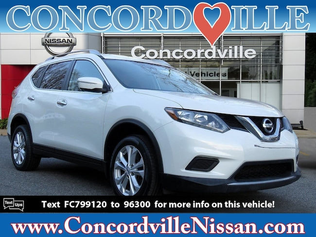 Certified Pre Owned 2015 Nissan Rogue SV AWD  SV Wilmington DE