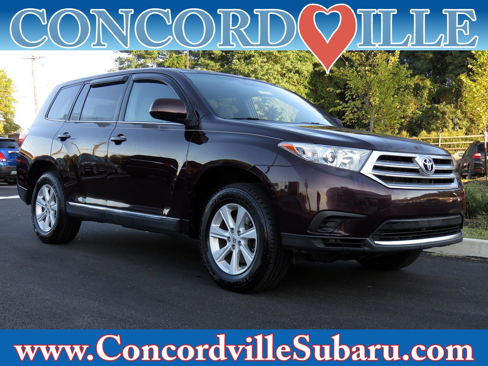2013 Toyota Highlander For Sale >> Used 2013 Toyota Highlander Suv For Sale In Glen Mills Pa Near Concordville West Chester Chester Pa Wilmington De Vin 5tdbk3eh3ds264870