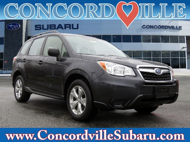 Certified Pre Owned 2015 Subaru Forester 2.5i SUV Wilmington DE