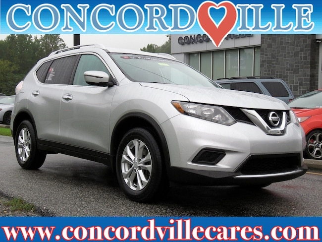 Certified Pre Owned 2016 Nissan Rogue SV SUV Wilmington DE