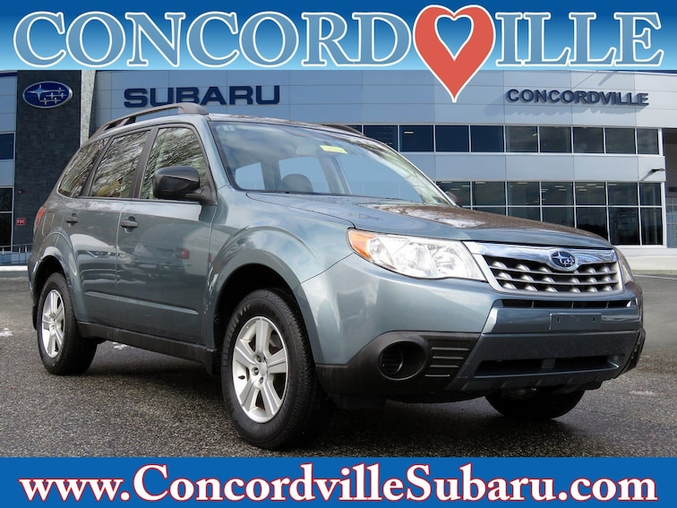 Used 2012 Subaru Forester 2.5X SUV in Glen Mills, PA