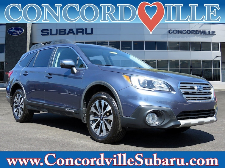 Used 2017 Subaru Outback Limited SUV in Glen Mills, PA