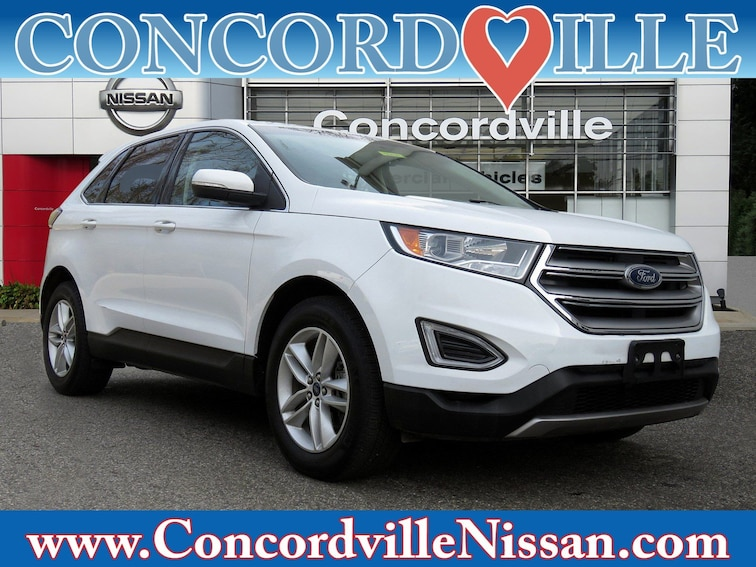 Used 2017 Ford Edge SEL SUV in Glen Mills, PA