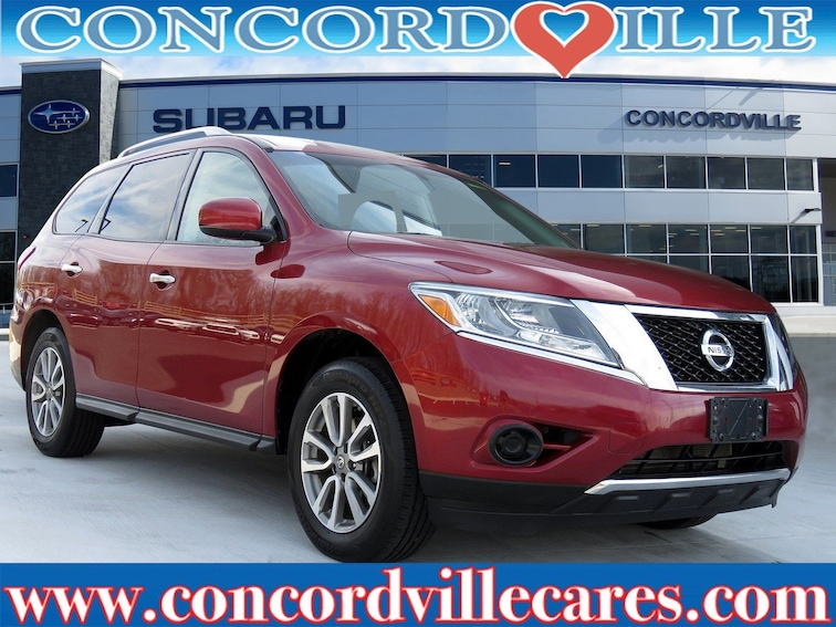 Used 2013 Nissan Pathfinder SV SUV in Glen Mills, PA
