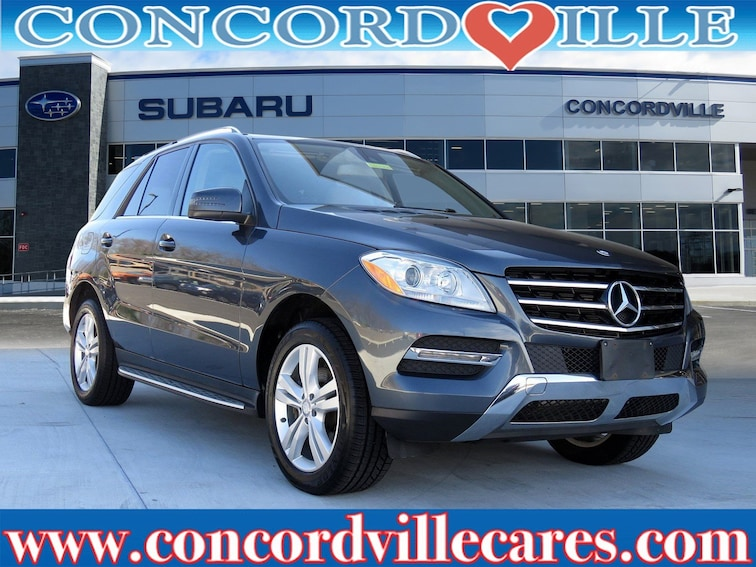 Used 2013 Mercedes-Benz M-Class ML 350 SUV in Glen Mills, PA