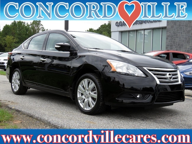 Certified Pre Owned 2015 Nissan Sentra SL Sedan Wilmington DE