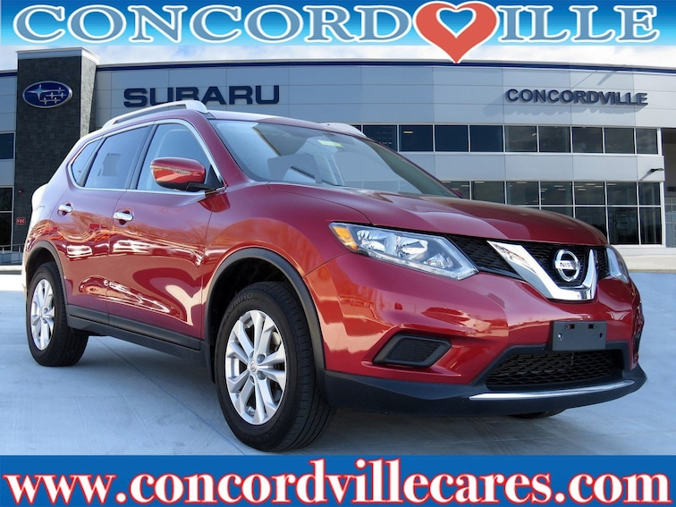 Used 2016 Nissan Rogue SV SUV in Glen Mills, PA