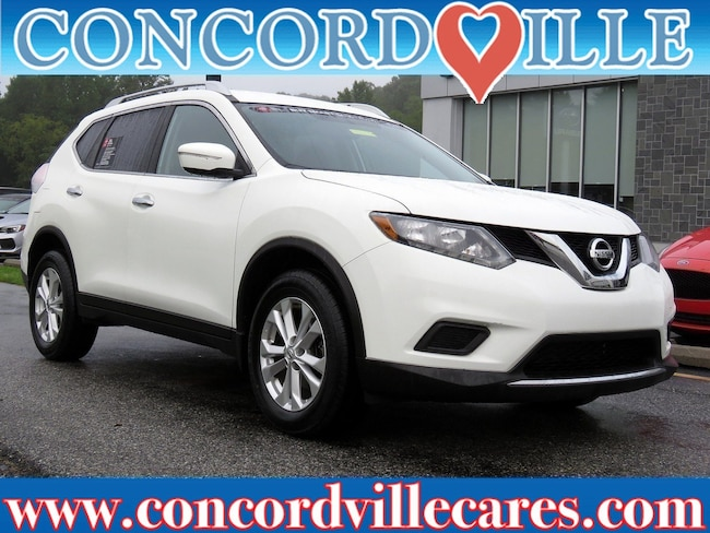 Certified Pre Owned 2015 Nissan Rogue SV SUV Wilmington DE