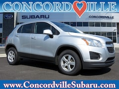 Used 2016 Chevrolet Trax LS SUV SP280A in Glen Mills, PA