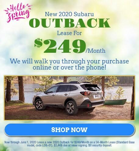 May - 2020 Subaru Outback