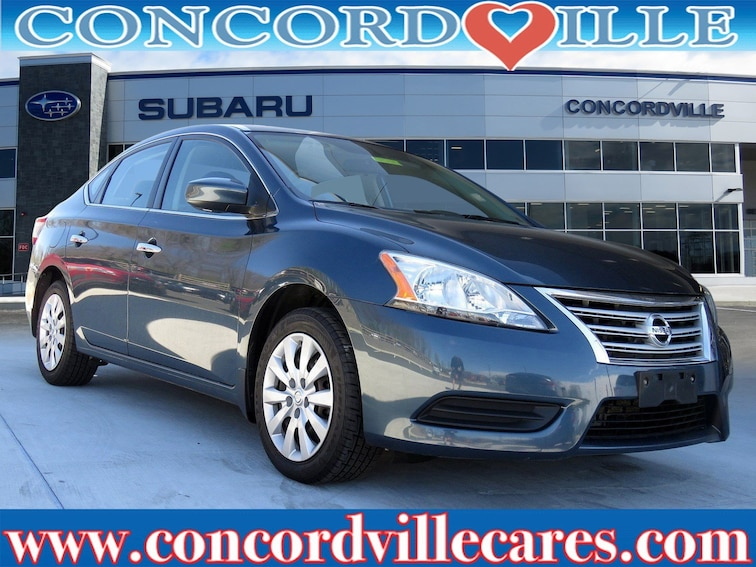 Used 2015 Nissan Sentra SV Sedan in Glen Mills, PA
