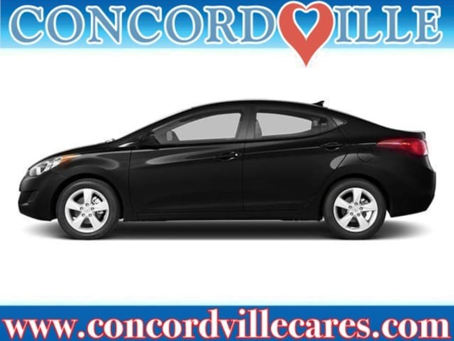 Used 2013 Hyundai Elantra Limited PZEV Sedan Near Drexel Hill
