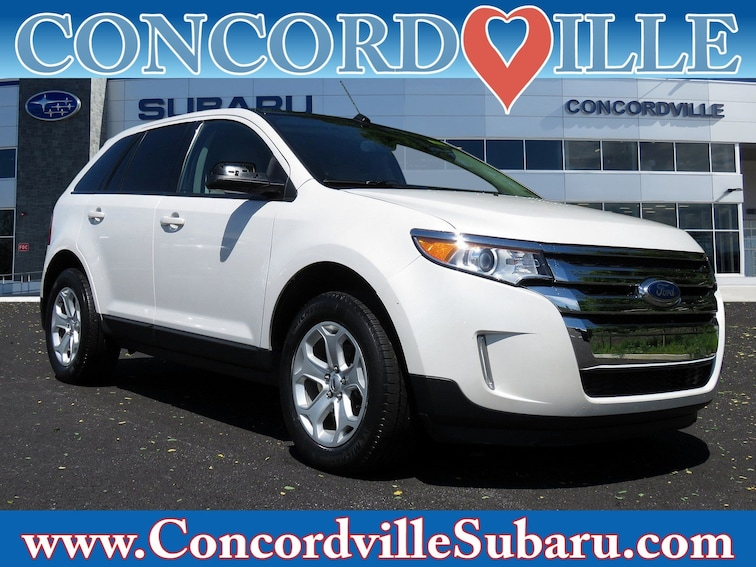 Used 2013 Ford Edge SEL SUV in Glen Mills, PA