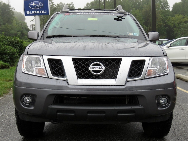 Certified Used 2017 Nissan Frontier Pro 4x For Sale In Glen Mills Pa