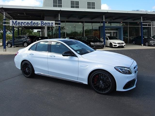 Featured new luxury vehicles 2018 Mercedes-Benz AMG C 63 S Sedan for sale near you in Milwaukee, WI