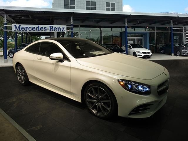 Featured new luxury vehicles 2018 Mercedes-Benz S-Class 4MATIC Coupe for sale near you in Milwaukee, WI