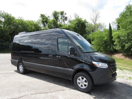 Featured new luxury vehicles 2020 Mercedes-Benz Sprinter 2500 High Roof V6 Van Passenger Van for sale near you in Milwaukee, WI
