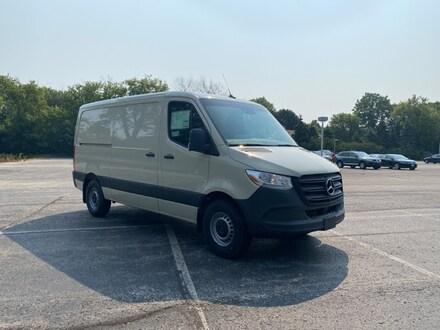 Featured new luxury vehicles 2021 Mercedes-Benz Sprinter 2500 Standard Roof I4 Diesel Van Cargo Van for sale near you in Milwaukee, WI