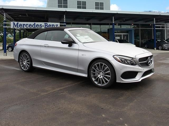 Featured new luxury vehicles 2018 Mercedes-Benz AMG C 43 4MATIC Convertible for sale near you in Milwaukee, WI
