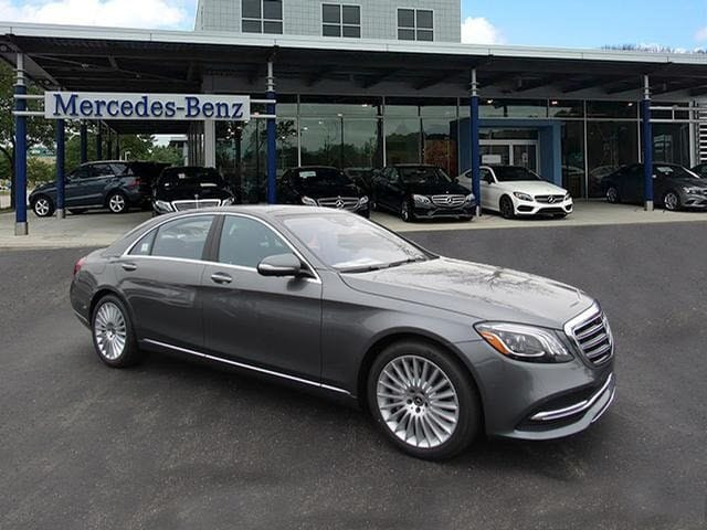 Featured new luxury vehicles 2018 Mercedes-Benz S-Class S 560 4MATIC Sedan for sale near you in Milwaukee, WI