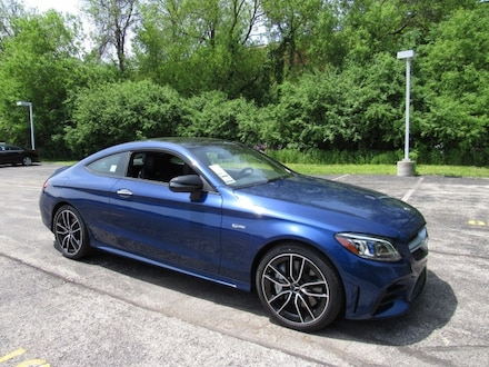 Featured new luxury vehicles 2019 Mercedes-Benz AMG C 43 4MATIC Coupe for sale near you in Milwaukee, WI