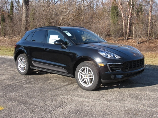 Featured new luxury vehicles 2018 Porsche Macan SUV for sale near you in Milwaukee, WI