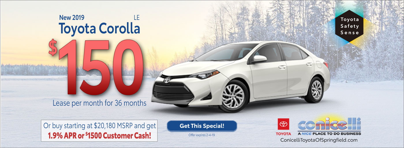 Toyota Corolla Lease Offers Buy A Corolla Near Upper Darby Pa