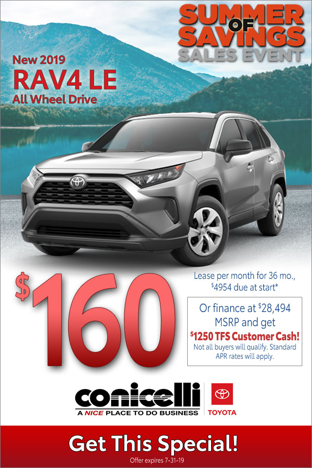 Lease Specials Near Me >> Toyota Rav4 Specials Near Me New Highlander Near Norristown Pa