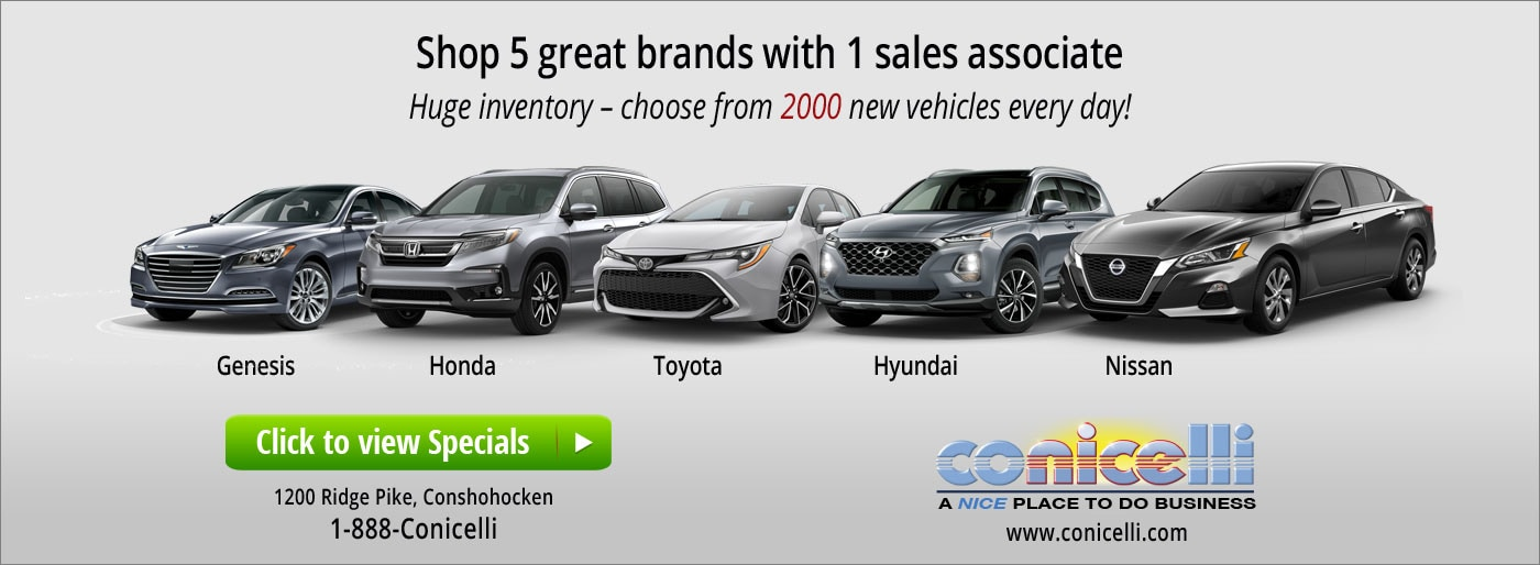Honda Springfield Pa >> New & Used Car Sales in PA | Conicelli Autoplex