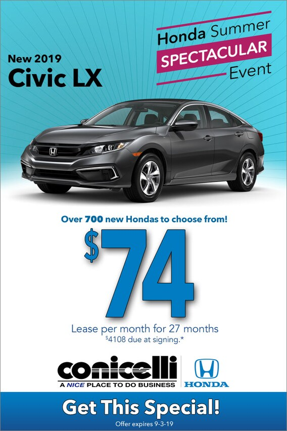 Honda Specials | PA Honda Sales in Southeast Pennsylvania