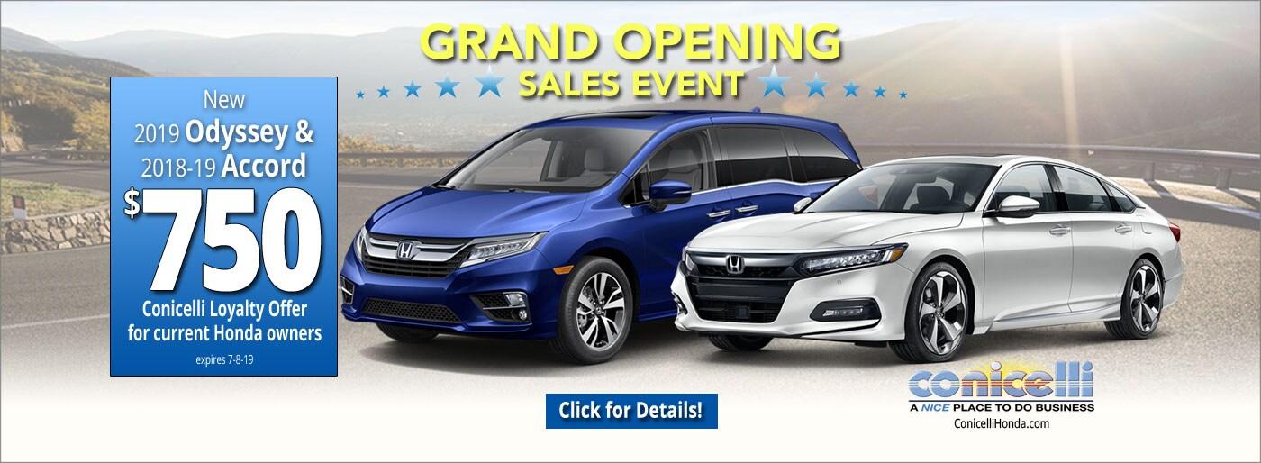 Honda Dealers In Delaware >> Welcome To Conicelli Honda Honda Dealer Near Philadelphia