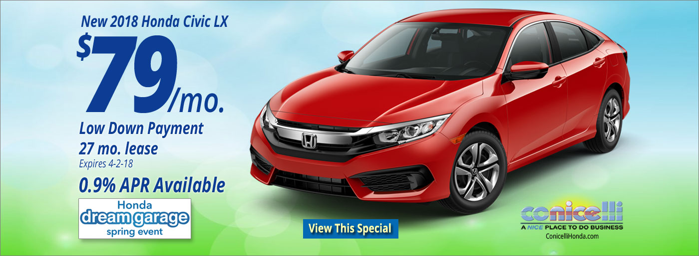 New Honda Lease And Finance Specials Near Conshohocken, PA