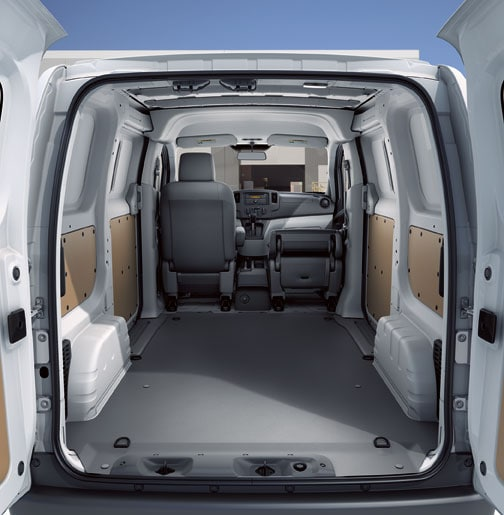 2015 Nissan Nv2500 Hd Cargo Interior