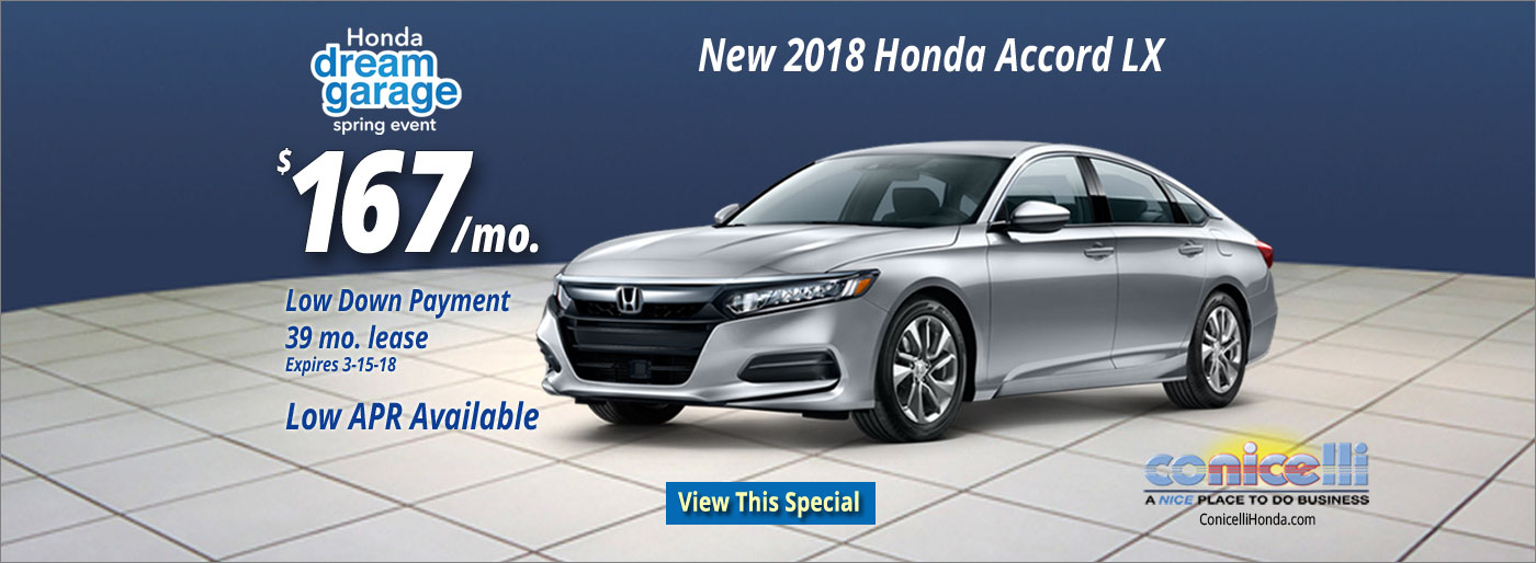 Honda Specials PA Honda Sales In Southeast Pennsylvania - Accord lease