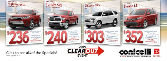 Toyota Dealers Pa >> Conicelli Toyota Of Springfield Toyota Dealer In
