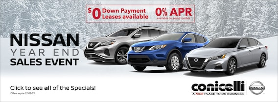 Nissan Make A Payment >> Conicelli Nissan New Used Nissan Dealer In Conshohocken Pa
