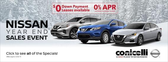 Nissan Dealers In Delaware >> Conicelli Nissan New Used Nissan Dealer In Conshohocken Pa