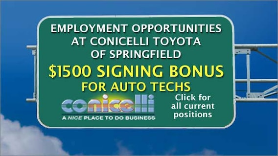 Toyota Pay By Phone >> Conicelli Toyota Of Springfield Toyota Dealer In