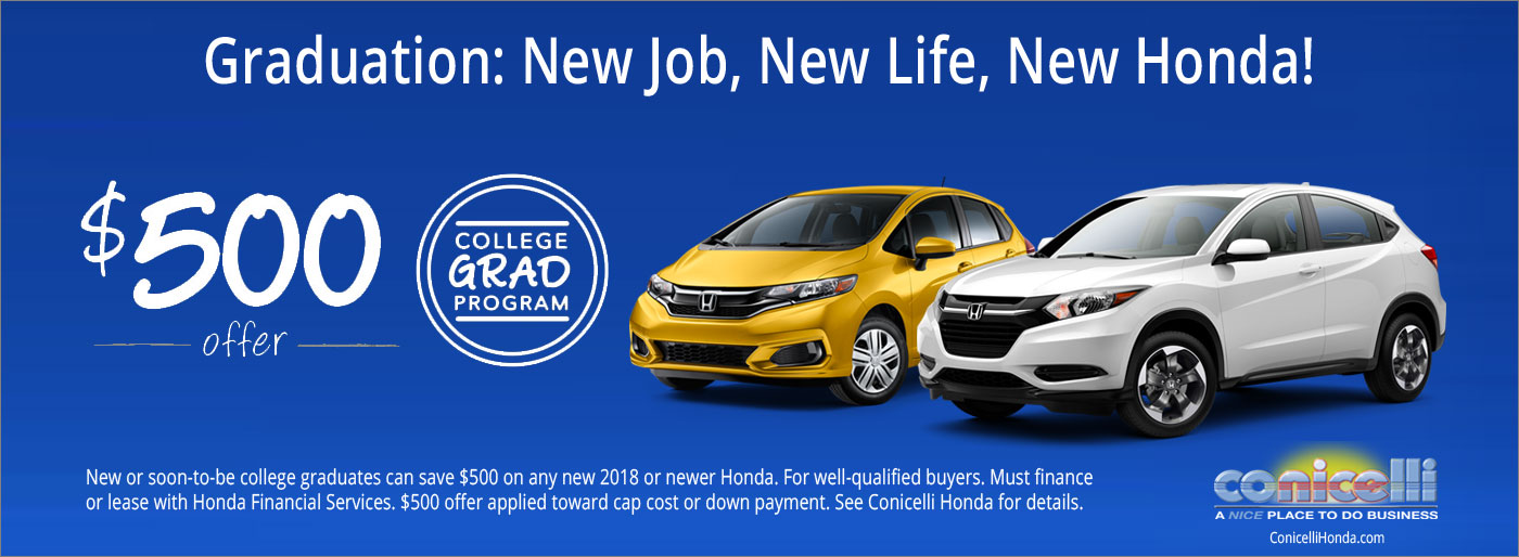 Honda Financial Services Account >> Honda Graduate Program Honda Cars For Sale Near Wayne Pa