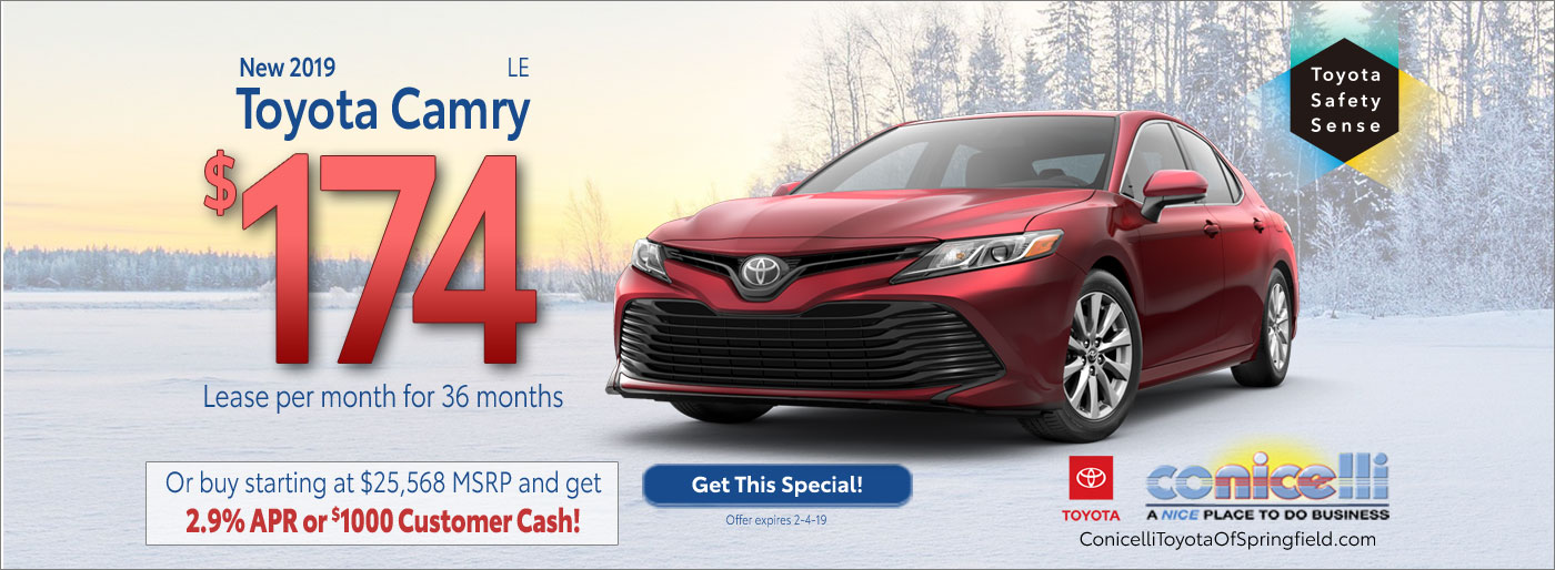 Toyota Camry Lease Specials In Springfield Pa Conicelli Toyota