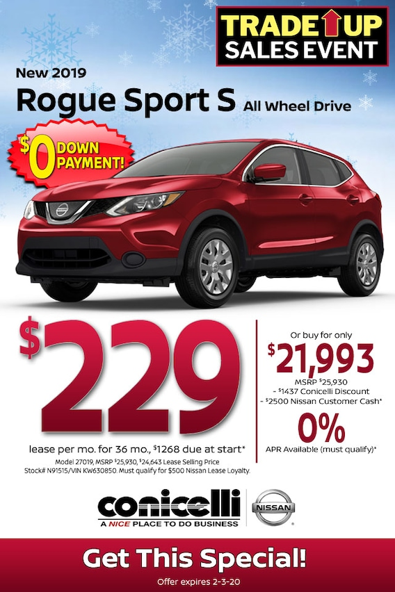 Nissan Rogue Lease >> New Nissan Specials In Pa Nissan Dealer Near Philadelphia