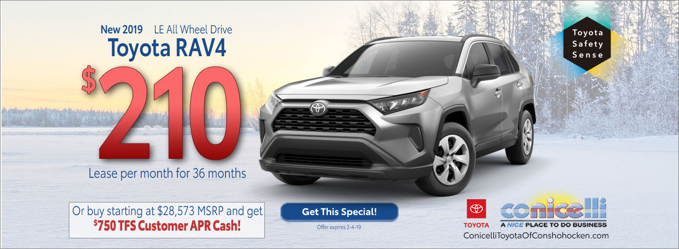Toyota Lease Specials In Conshohocken Pa Toyota Lease Offers
