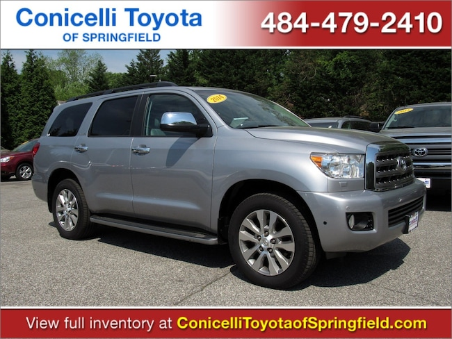 2014 Toyota Sequoia Limited 4WD 5.7L FFV Limited