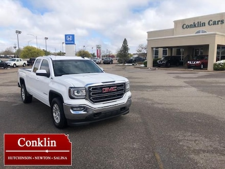 2017 GMC Sierra 1500 4WD Double Cab 143.5 SLE Extended Cab Pickup