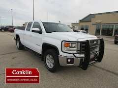 2014 GMC Sierra 1500 4WD Double Cab 143.5 SLE Extended Cab Pickup