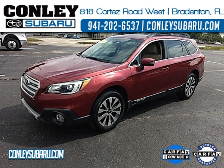 Certified 2017 Subaru Outback 2.5i SUV For Sale in Bradenton, FL